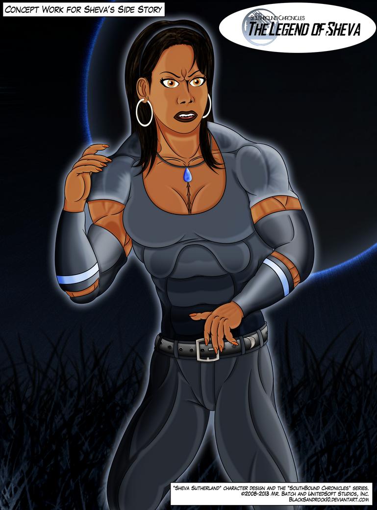 'The Legend of Sheva' Concept Work - No.1 by BlackSandrock10