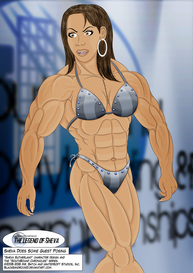 Sheva Does Some Guest Posing by BlackSandrock10