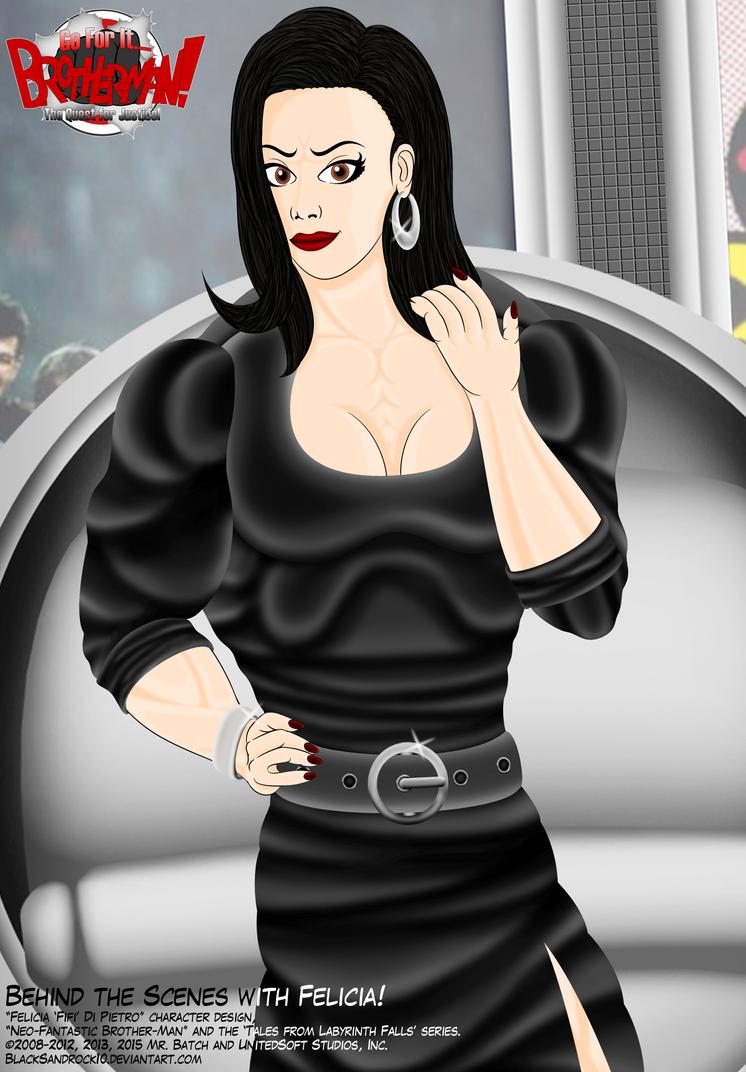 Behind the Scenes with Felicia (Close-Up No.4) by BlackSandrock10