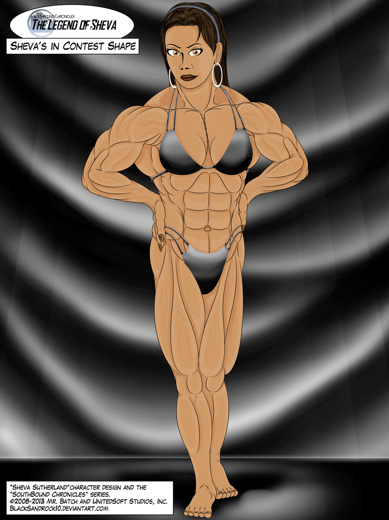Sheva's in Contest Shape - No.1 by BlackSandrock10