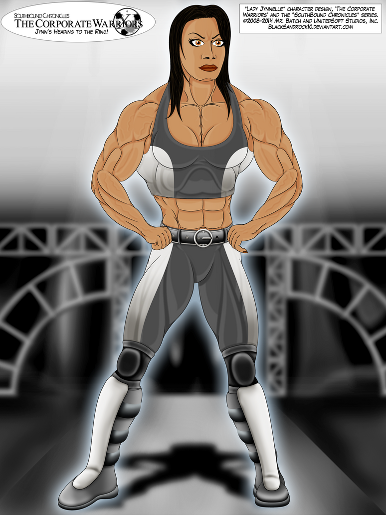 Jynn's Heading to the Ring! by BlackSandrock10