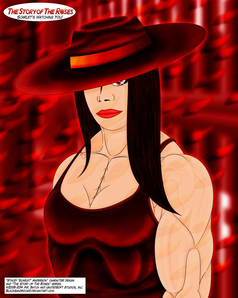 Scarlet's Watching You! by BlackSandrock10