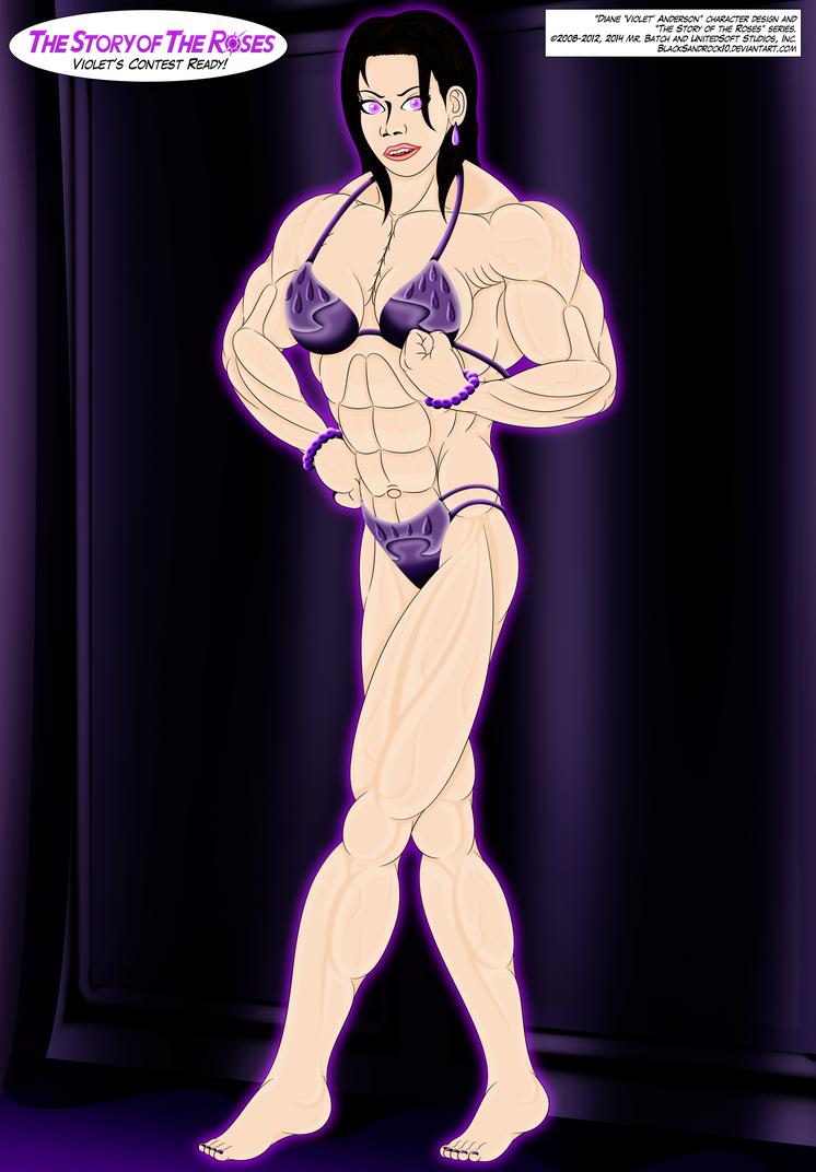 Violet's Contest Ready (Full Body No.2) by BlackSandrock10
