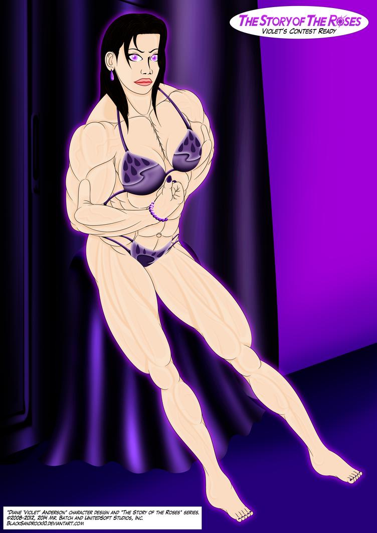 Violet's Contest Ready (Full Body No.5) by BlackSandrock10