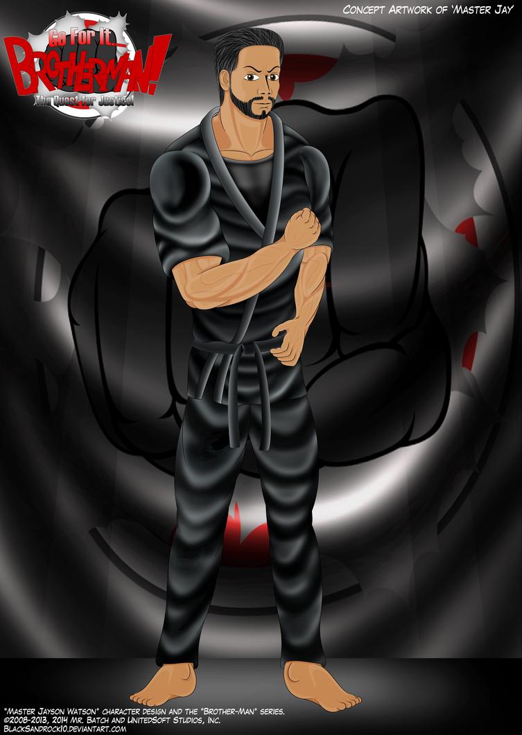 Introducing the Cast No.3 - Master Jay by BlackSandrock10