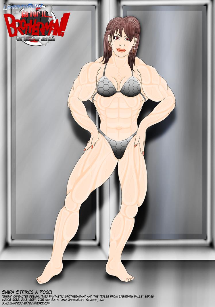 Shira Strikes a Pose by BlackSandrock10