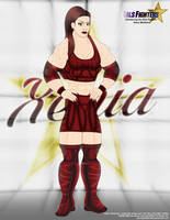 Introd. the Gals Fighters No.9 - Xenia (Vers.3) by BlackSandrock10