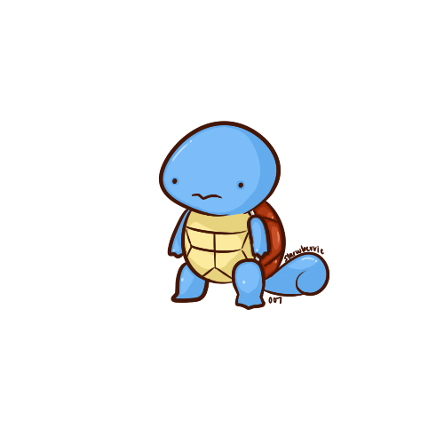 007 squirtle by fishooe on deviantart - Derpy squirtle ...