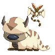 APPA and MOMO [AVATAR] Pixel by fishooe