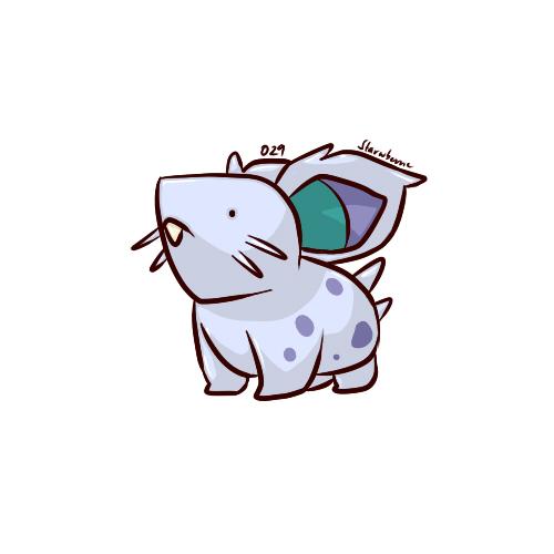 029 - Nidoran (F) by starwberrie