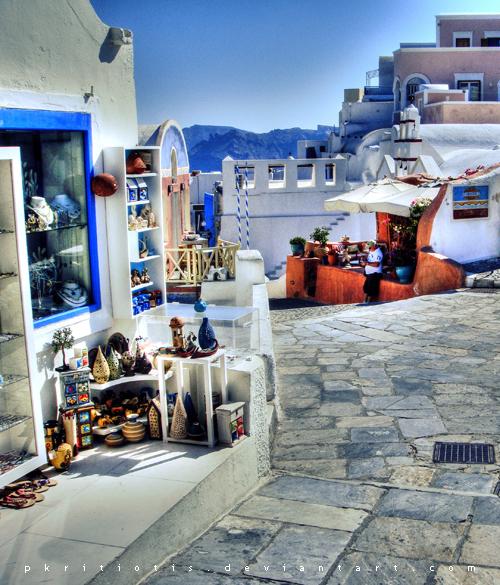 Santorini I by pkritiotis