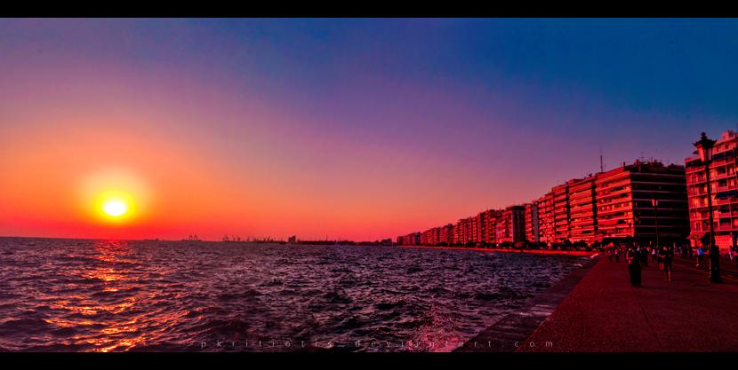Sunset by pkritiotis