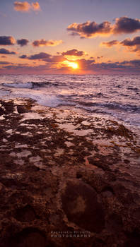 Sunset on the Rocks II