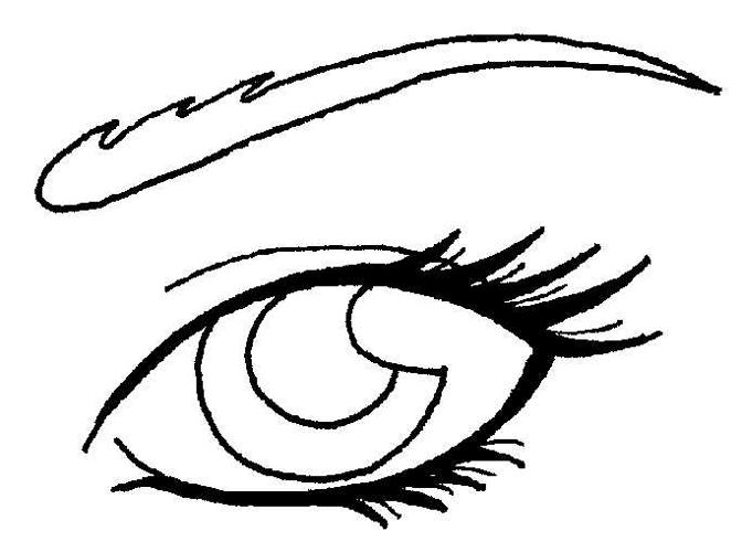 Line Drawing Eye : Oc aswa s eye lineart by wargmo on deviantart