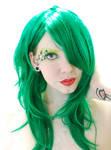 . xmas green, smile . by Grotesque-Stock