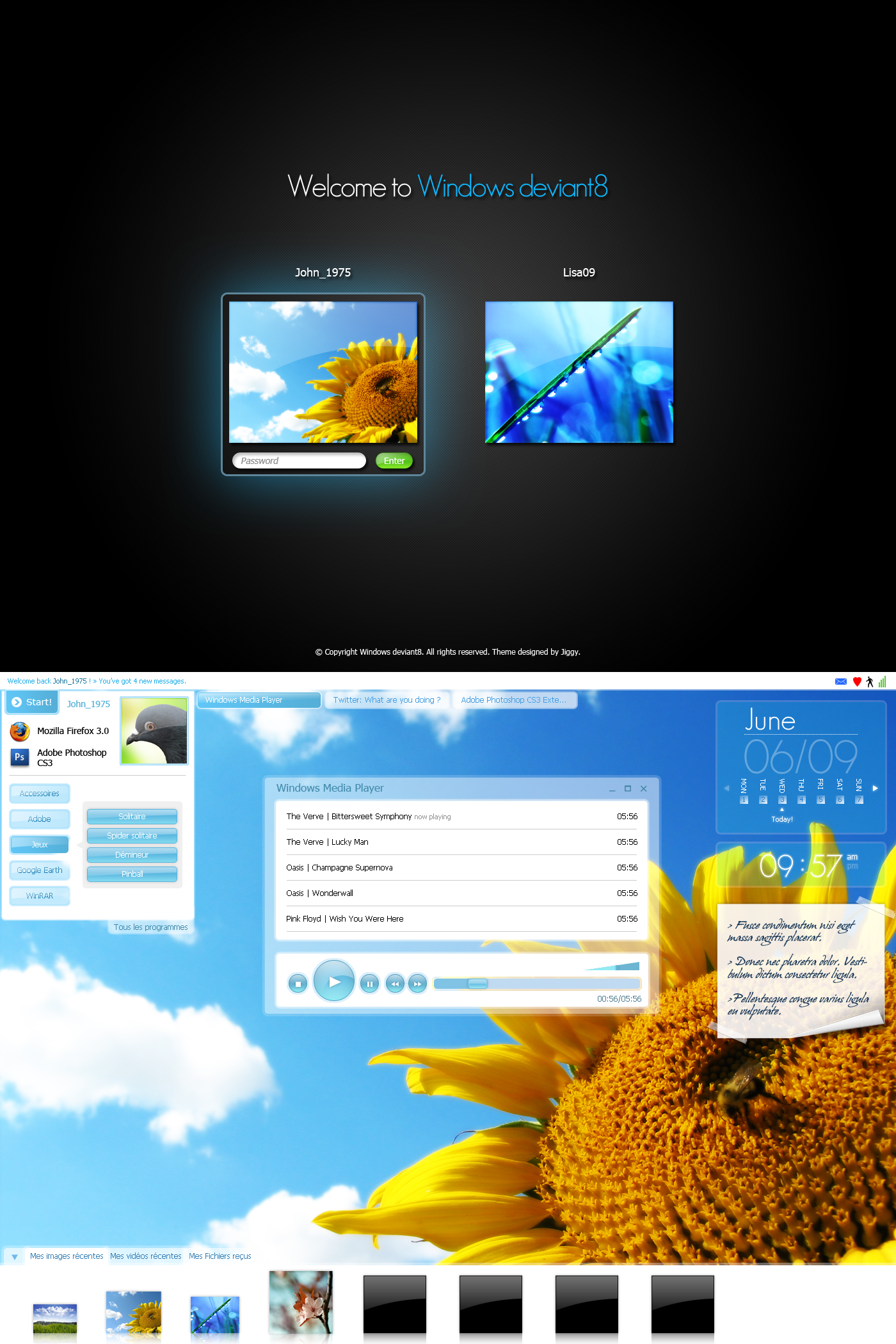 Windows deviant8 : Mockup by JiggyDesign