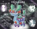 Pokemon Fusion! Amaura, Froslass, and Leafeon!