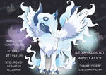 Pokemon Fusion! Mega Absol and Alolan Ninetales!
