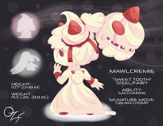 Pokemon Fusion Raffle Winner! Mawlcremie!