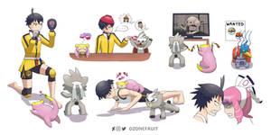 Pokemon Isle of Armor Training Montage 1