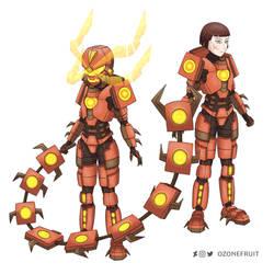 Centiskorch Armor