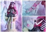 Monster High Rochelle Goyle by MiveeArt
