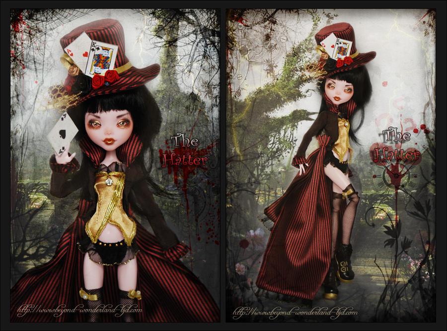 Mad Hatter Lady by MyobiMarishka