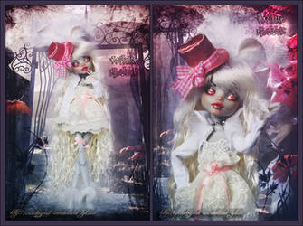 White Rabbit - The Bloodstained by MiveeArt