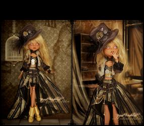 Mrs.Clockwork by MiveeArt