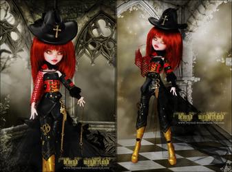 The Demon Hunt: Iraye by MiveeArt