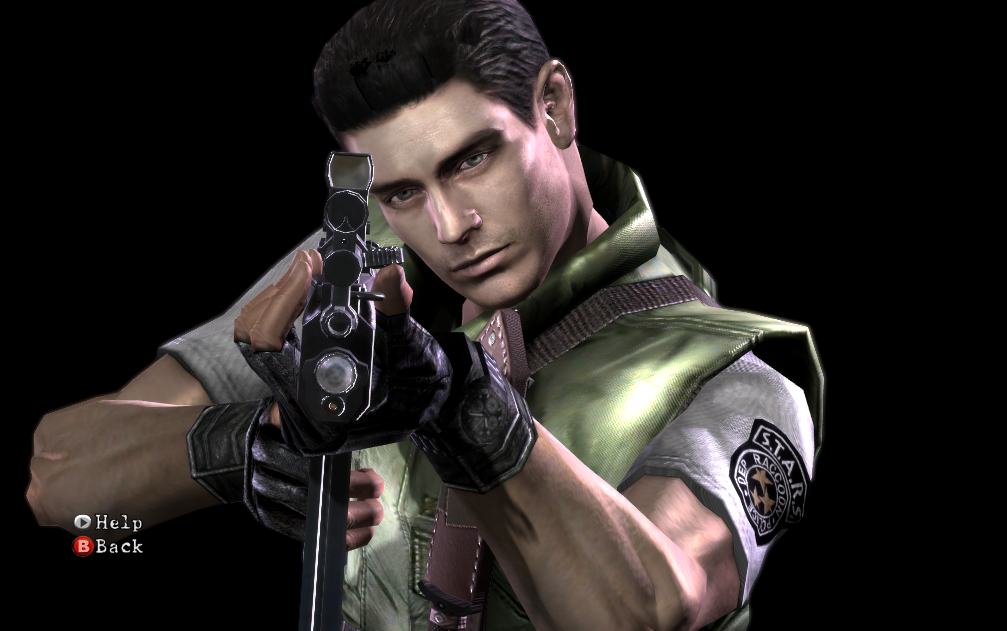 Resident Evil 5 Play As Chris Redfield Hd Remaster By