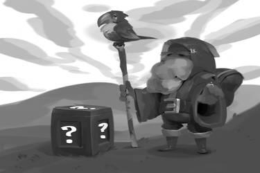 Adventurer Sketch by Firrka