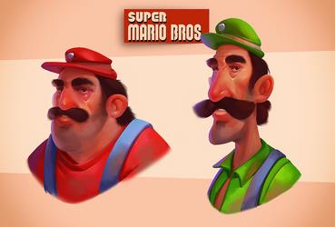Super Mario Bros. by Firrka