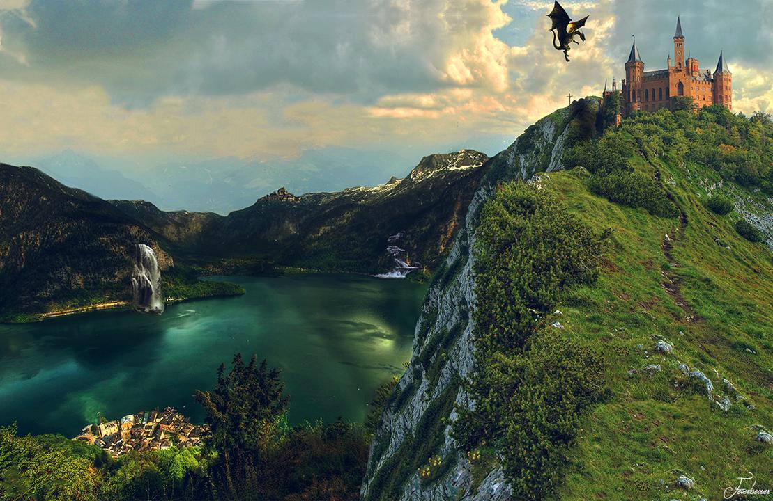 Dragon Lake by Feverbeaver29