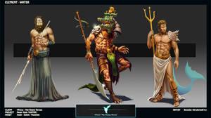 YForce Mythologicals - WATER #3 (Work)