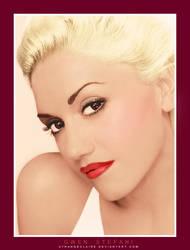 Color: Gwen Stefani by StrangeClaire