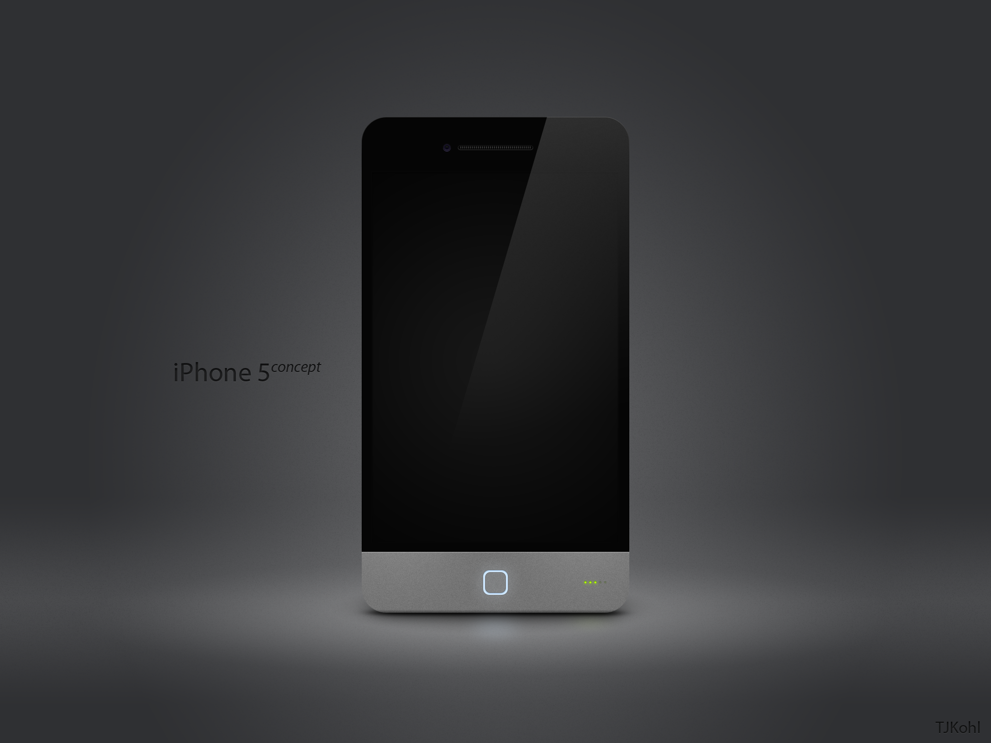 iPhone 5 Concept by tjkohli