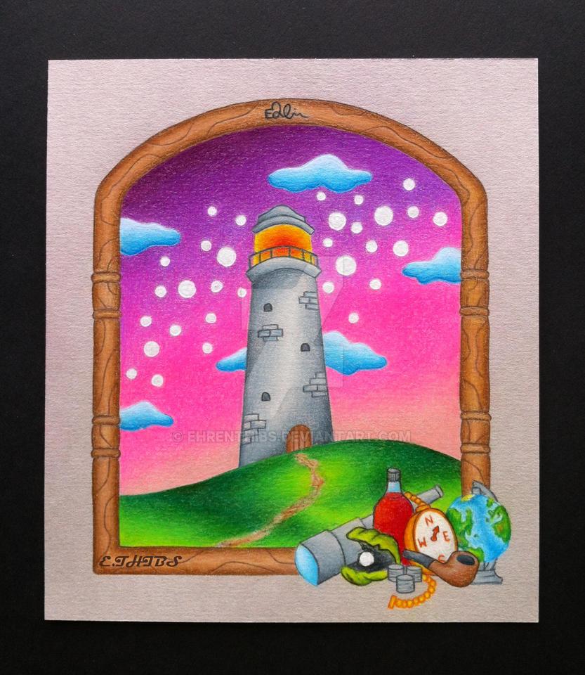 Lighthouse by EhrenThibs