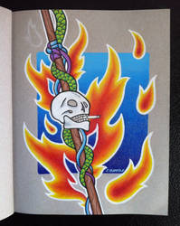 Screamin' Jay Hawkins II by EhrenThibs