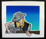 Johnny WInter by EhrenThibs