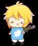 Twitter Mel by Chowkeyo