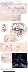 Pirouette concept art dump by measlyflee
