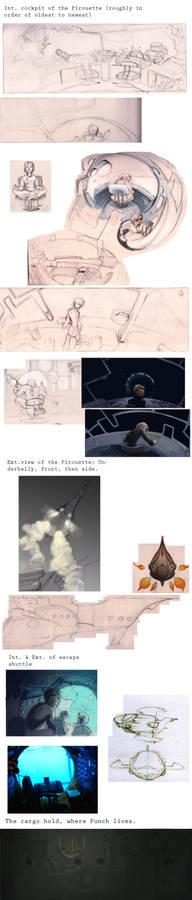 Pirouette concept art dump