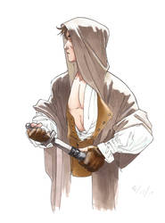 The Hooded Swordsman