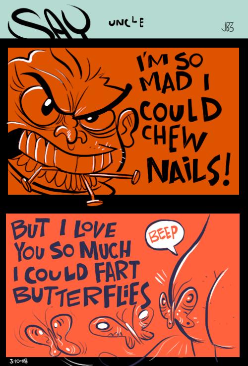 NAILS by sayunclecomics