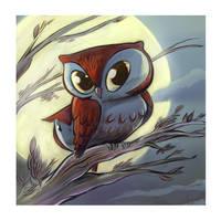 Owltober 11th 2010 by sayunclecomics