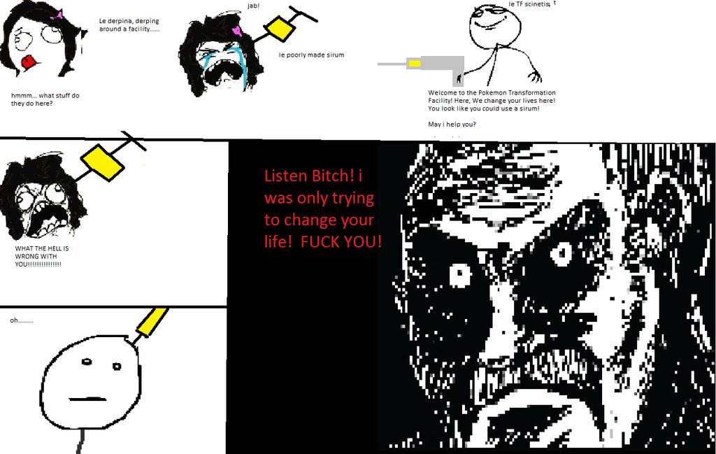 Pokemon Transformation Rage Comic. by GreenLeafTheServine on ...