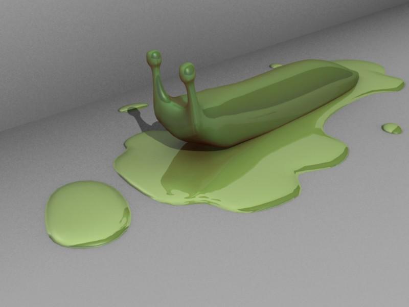 Blender 3d Slug by LiquosBlender 3d Art