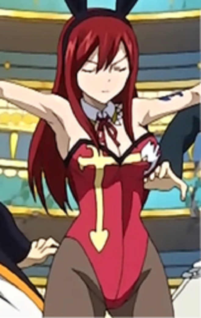 Bunny erza scarlet by knightwalker591 on deviantart - Fairy tail erza sexy ...