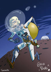 Tovenesto - Space pirate by Tovenesto
